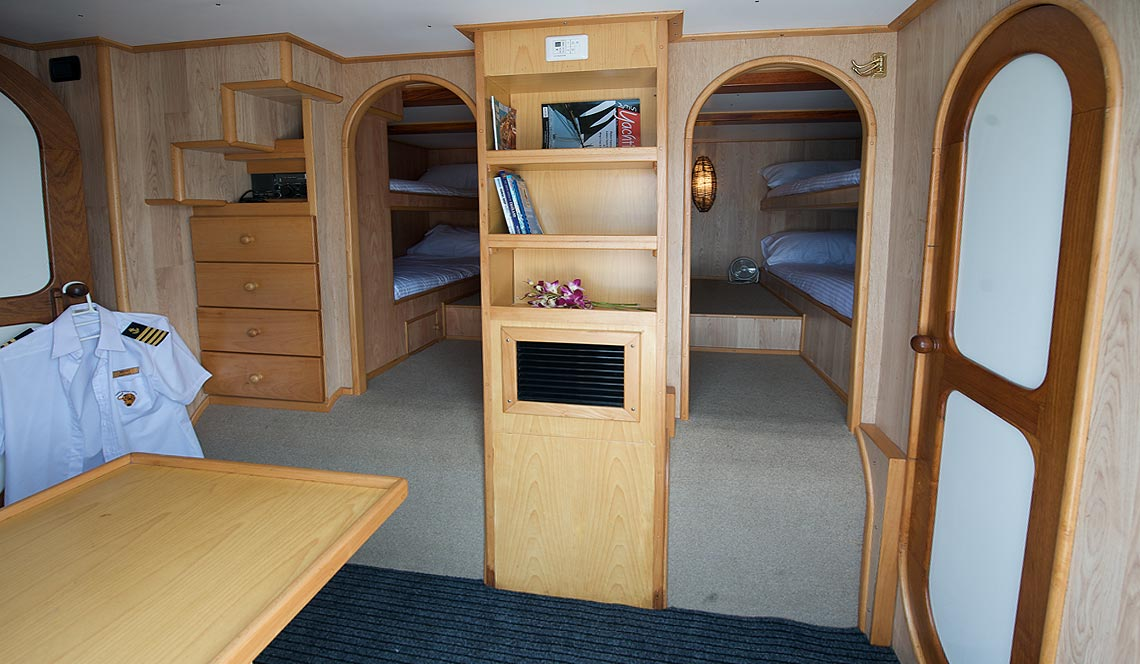 Shangani Cabin Deck Layout And Suites Tiger Marine Charter