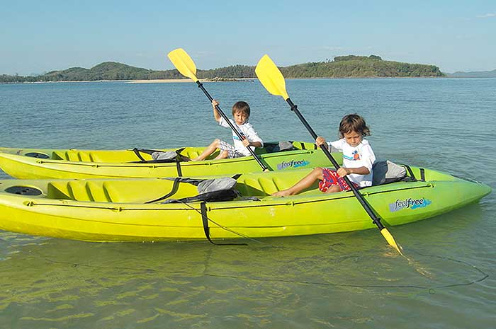 Kayaking for for the kids