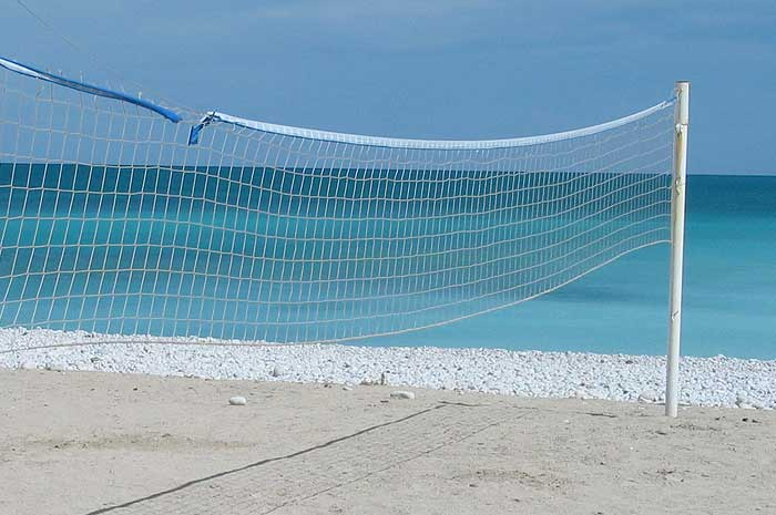Beach Volleyball & Badminton
