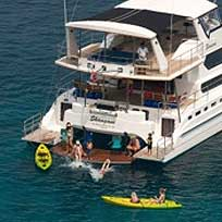 Our boat Shangani, catamaran phuket large group yacht charter