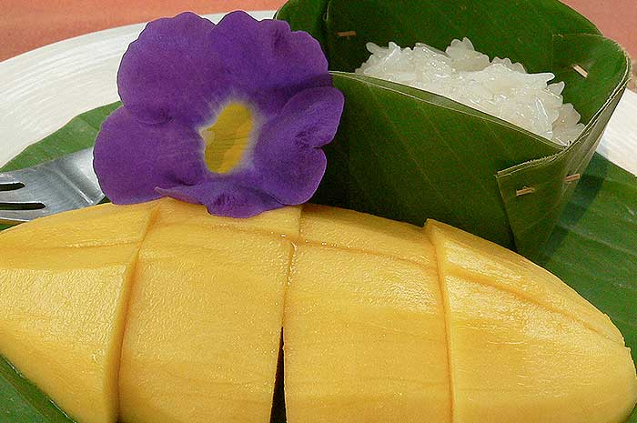 Thai Sticky Rice & Mango