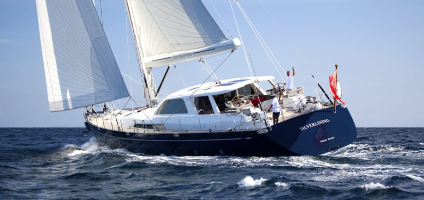 OUR SISTER YACHT ARRIVING END OF JUNE-SILVERLINING