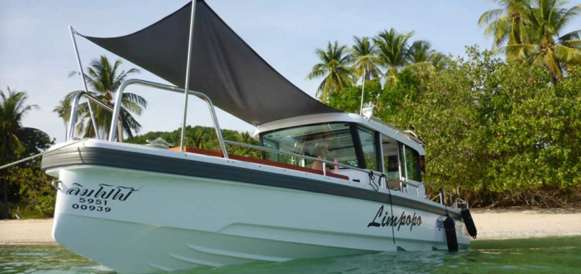 SPEED BOAT CHARTER IN PHUKET WITH TIGER MARINE CHARTER