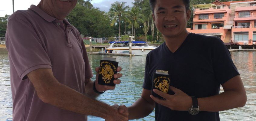THE OFFICIAL HANDOVER OF TIGER MARINE CHARTER's NEW BOAT