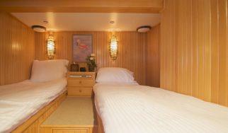 Twin Beds which can be converted to double