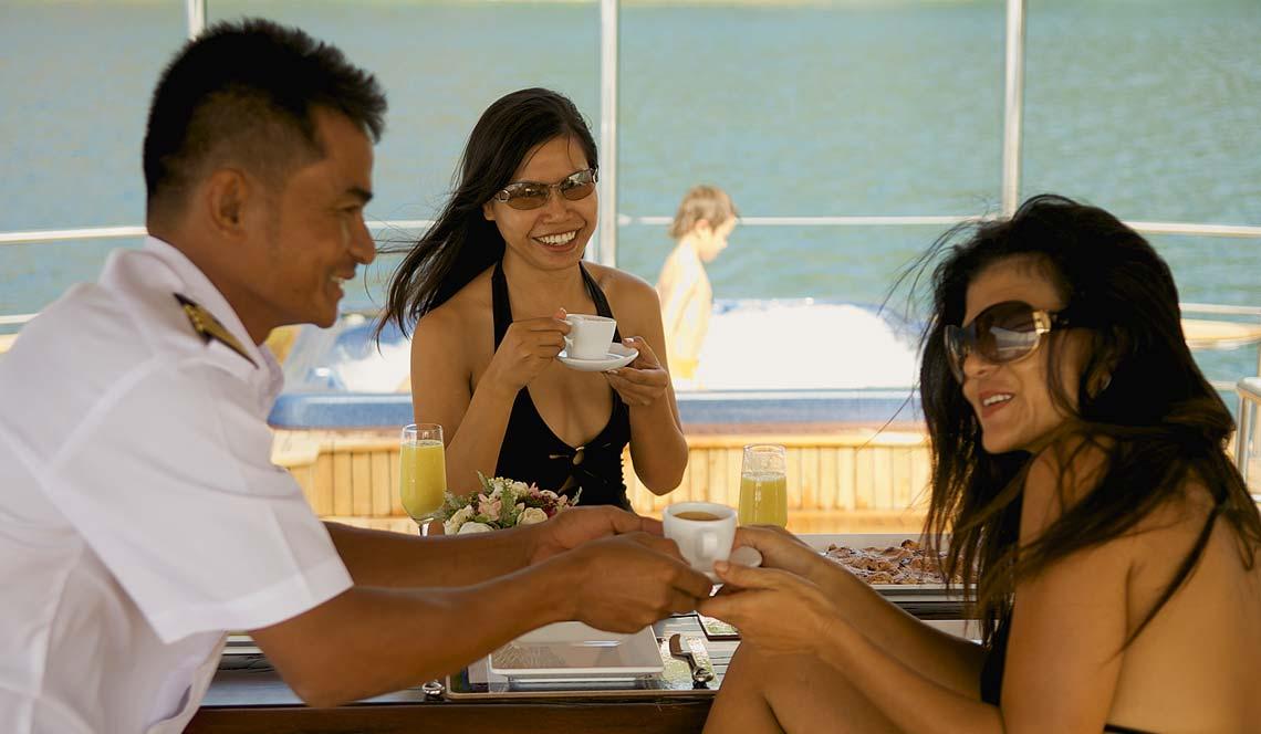 shangani yacht charter phuket fantastic crew