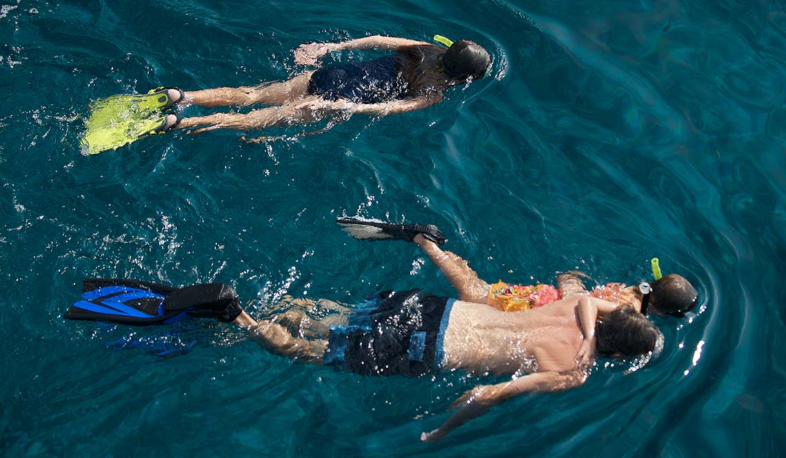 Shangani yacht charter phuket watersports snorkel kayak slide jacuzzi