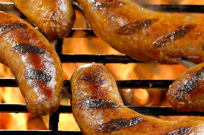 BBQ Coriander Sausages