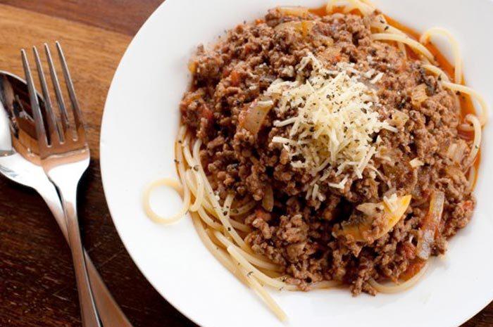 Sphaghetti Bolognese
