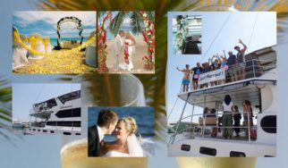 weddings on the beach our on board the yacht shangani in phuket thailand