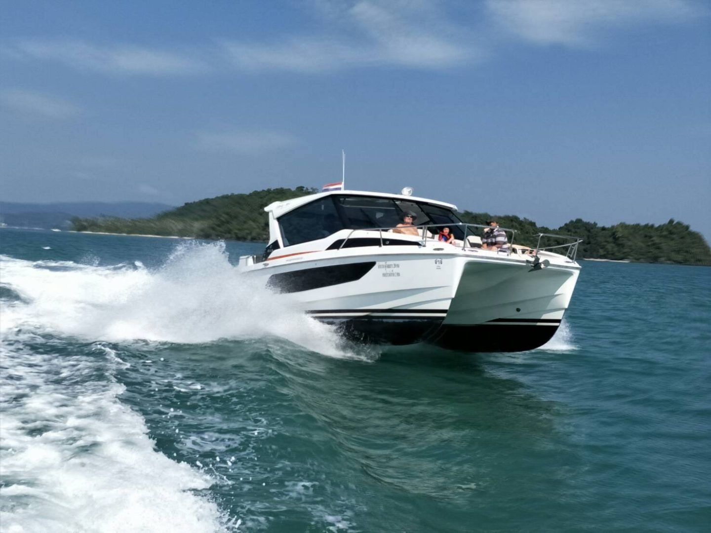 Island Hopping Phuket Luxury Catamaran Speedboat