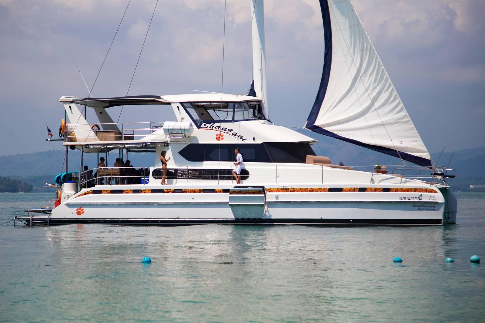 The Big Catamaran - SHANGANI 70 - Tiger Marine Charter